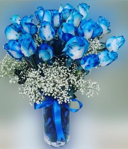 Vazoda Mavi Güller