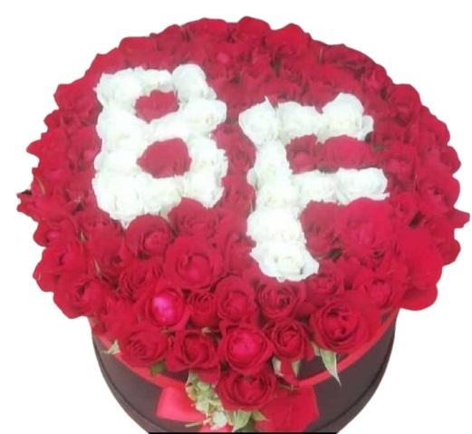 2 Baþ Harf Kutu Çiçek